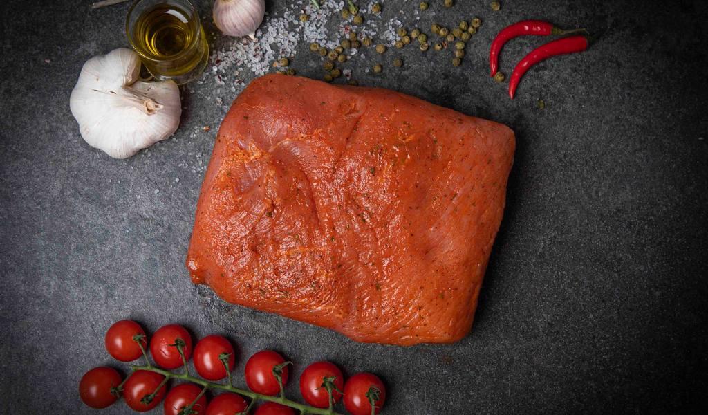 Beenham bourgondisch fricandeau varkensvlees gekruid oven